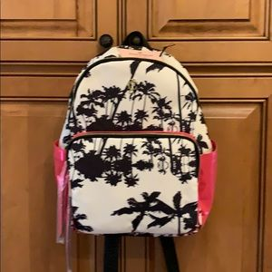 NWT Juicy Couture flamingo backpack 15tx10wx5d